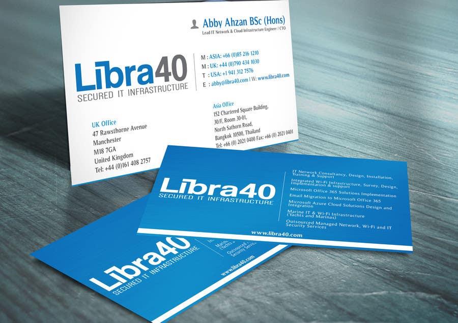 Entry #24 by i5grafix for Design some Business Cards | Freelancer