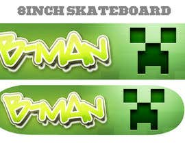 #19 for I need some Graphic Design for Son Custom made Skatebaord af Zeshu2011