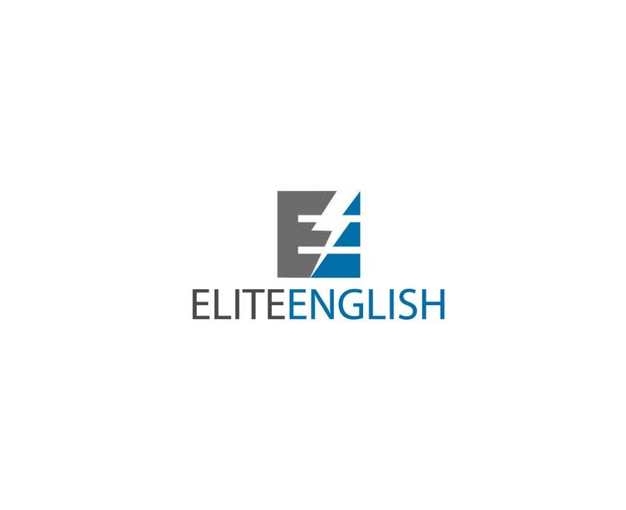 #162 for Design a Logo for Elite English by skrDesign21