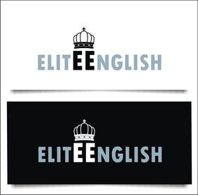 #165 for Design a Logo for Elite English by indraDhe