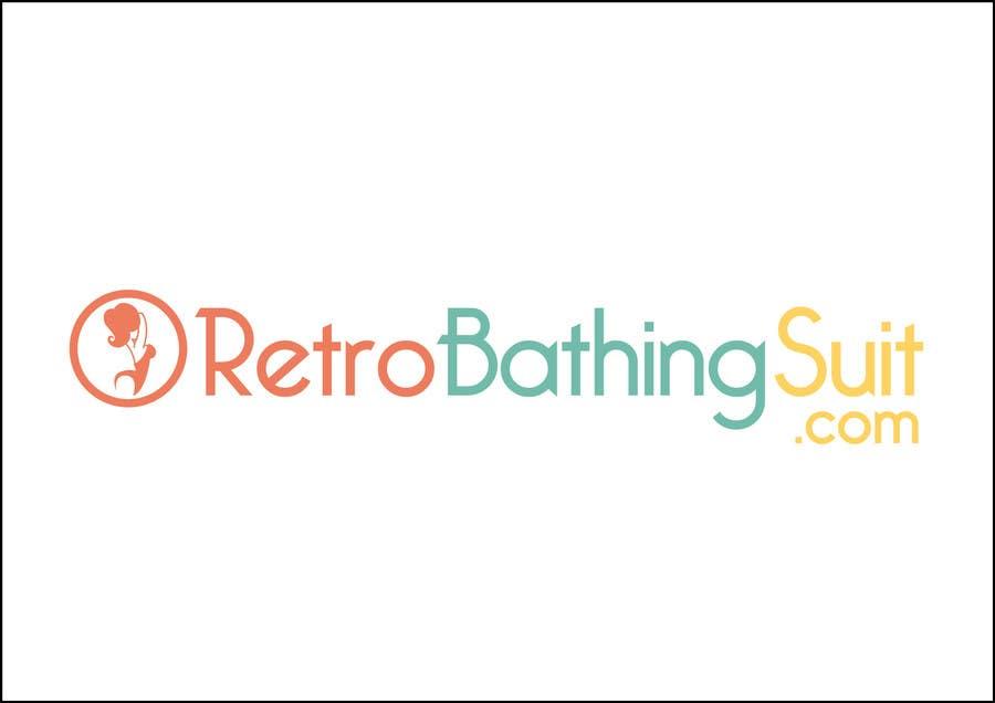 Bài tham dự cuộc thi #                                        22                                      cho                                         Design a Logo for Retro Bathing Suit website and print