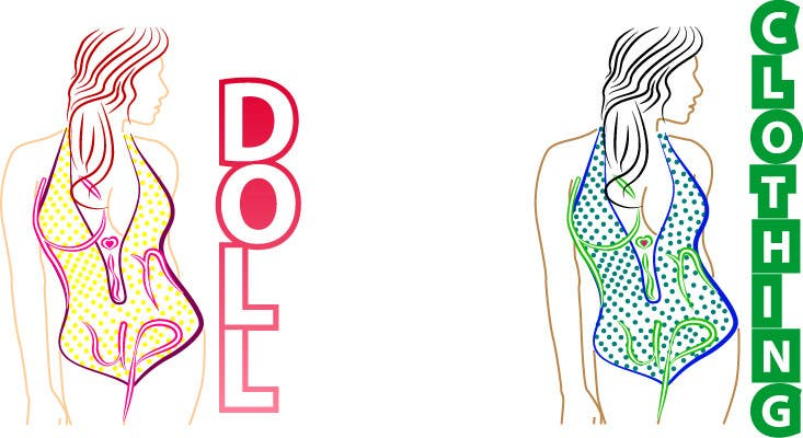 Bài tham dự cuộc thi #                                        36                                      cho                                         Design a Logo for Retro Bathing Suit website and print