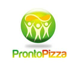 #184 para Logo Design for pronto pizza web site por santarellid