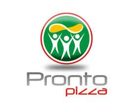 #248 para Logo Design for pronto pizza web site por santarellid