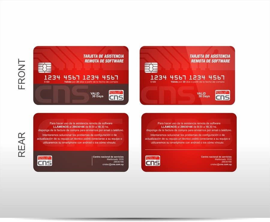 8061427e1 Entry  3 by corradoenlaweb for Crear diseño de impresión y presentación  Credit Card Style