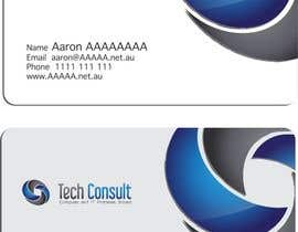 nº 9 pour Design some Business Cards for Tech Consult par jinupeter