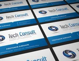 #8 untuk Design some Business Cards for Tech Consult oleh AmrenDesign