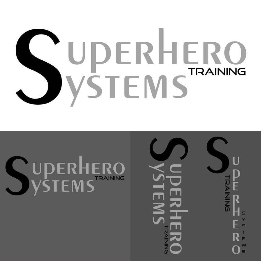 "#22 for Design a Logo for ""Superhero Training Systems"" by Siddhant7Saxena"