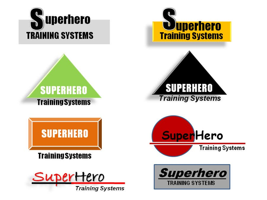 "#11 for Design a Logo for ""Superhero Training Systems"" by anumags"