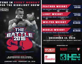 #7 for Design a Flyer for my Boxing tournament Easy money! by arekkusakkusa