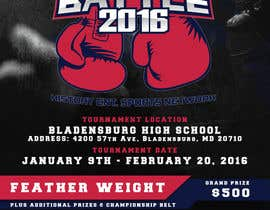 #8 for Design a Flyer for my Boxing tournament Easy money! by arekkusakkusa