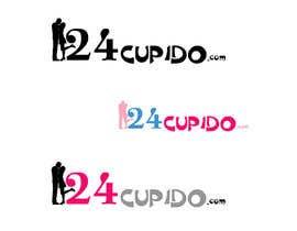 Nro 9 kilpailuun Logo design for 24CUPIDO.COM - repost käyttäjältä Pixaart