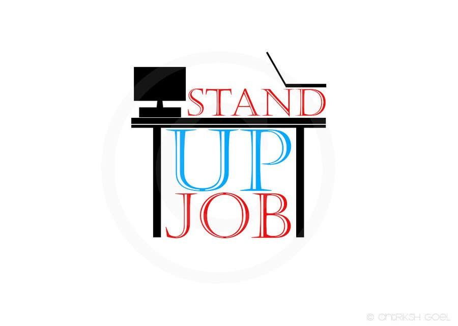 Bài tham dự cuộc thi #                                        73                                      cho                                         Design a Logo for Stand-UpJob.com