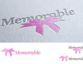 "#57 for Design logo for ""Memorable Wedding.me"" by santy99"
