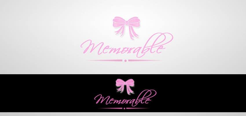 """Penyertaan Peraduan #45 untuk Design logo for """"Memorable Wedding.me"""""""