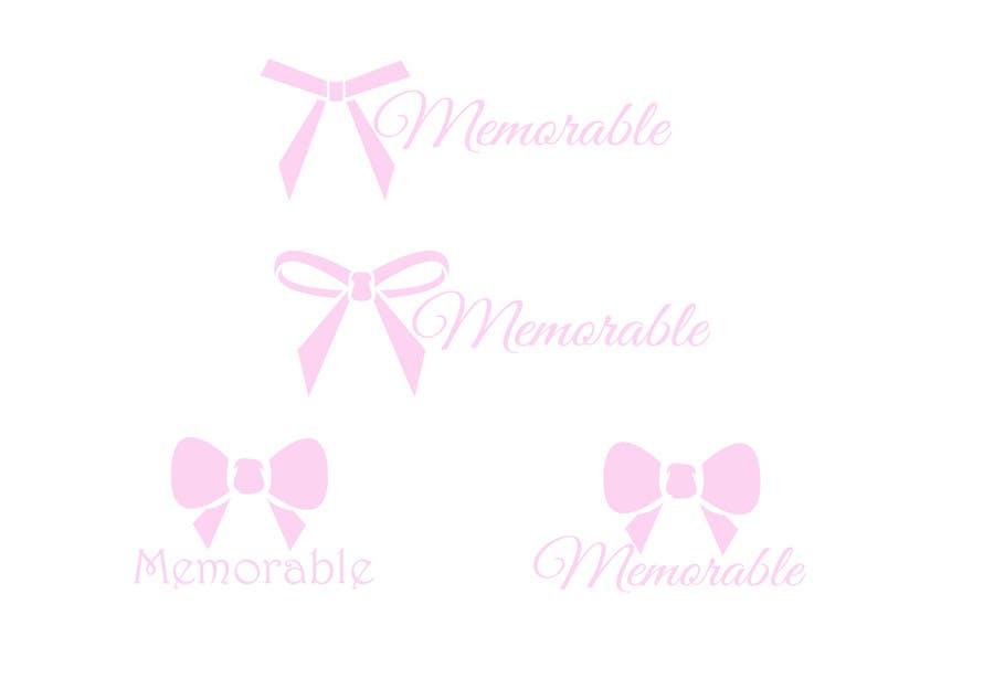 """Konkurrenceindlæg #47 for Design logo for """"Memorable Wedding.me"""""""