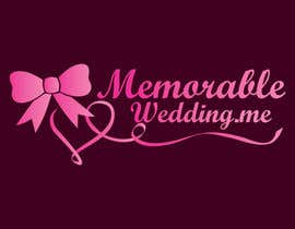"#35 cho Design logo for ""Memorable Wedding.me"" bởi alissonvalentim"