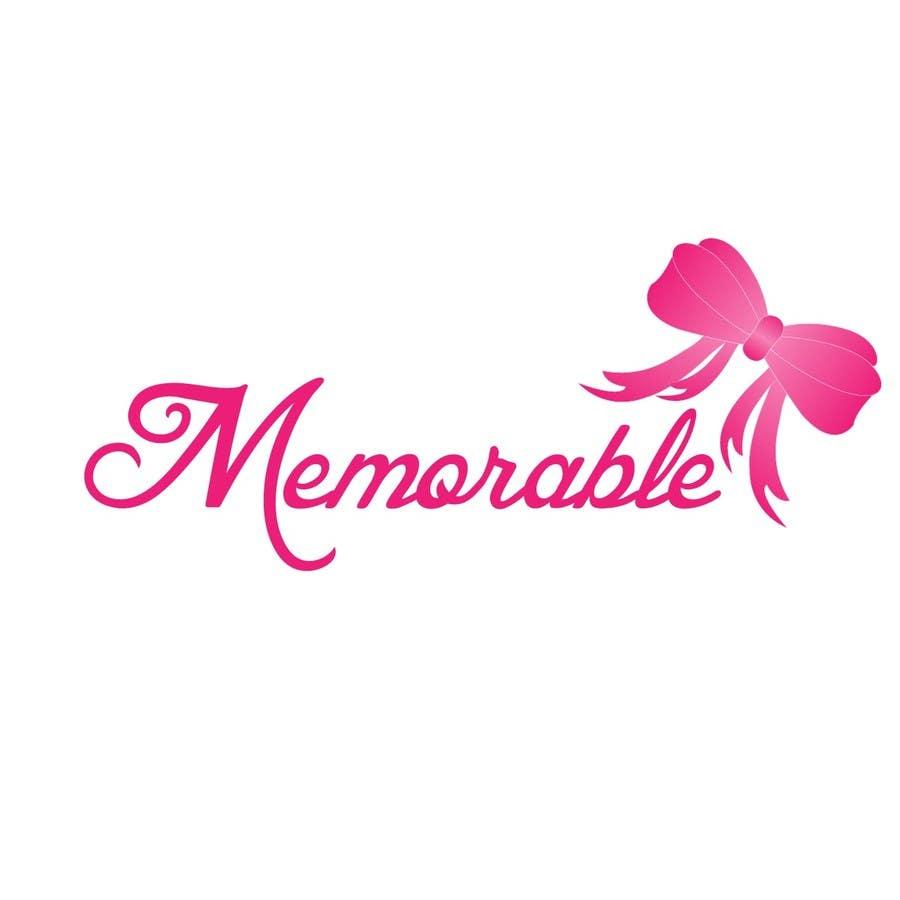 """Konkurrenceindlæg #15 for Design logo for """"Memorable Wedding.me"""""""