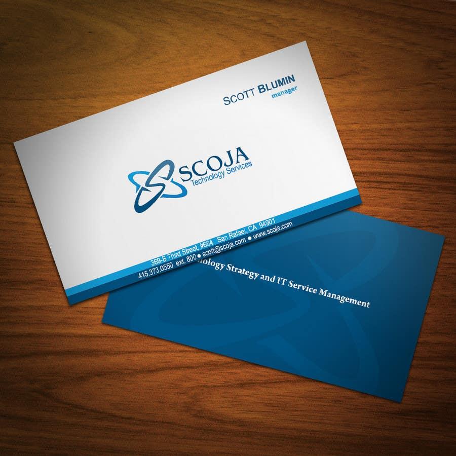 Bài tham dự cuộc thi #                                        88                                      cho                                         Business Card Design for SCOJA Technology Partners