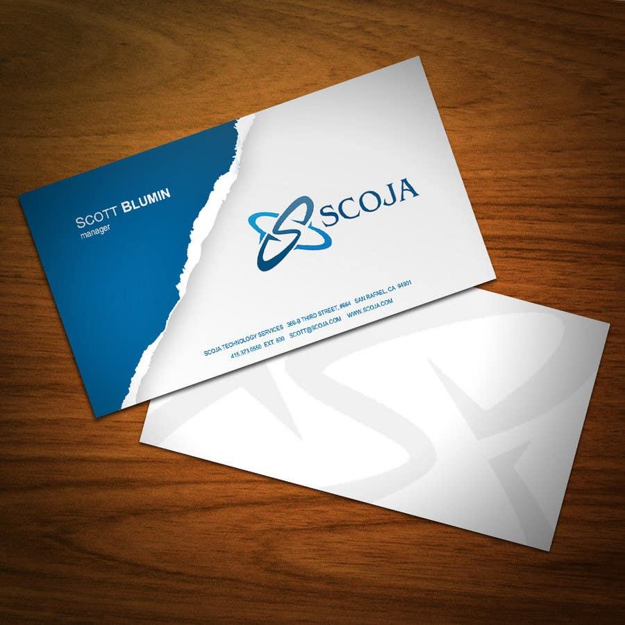 Bài tham dự cuộc thi #                                        19                                      cho                                         Business Card Design for SCOJA Technology Partners