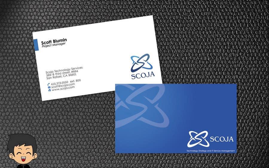 Konkurrenceindlæg #                                        258                                      for                                         Business Card Design for SCOJA Technology Partners