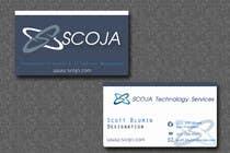 Graphic Design Konkurrenceindlæg #124 for Business Card Design for SCOJA Technology Partners