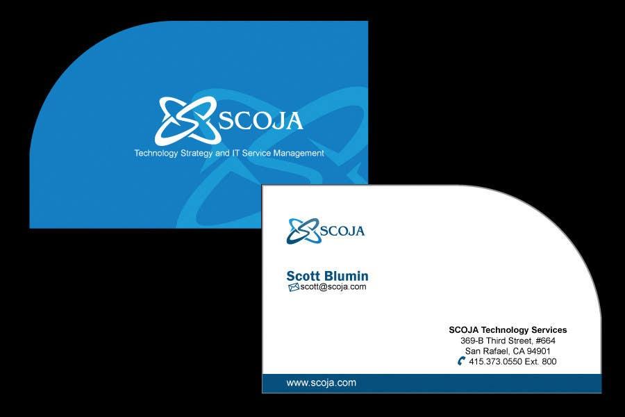 Bài tham dự cuộc thi #                                        150                                      cho                                         Business Card Design for SCOJA Technology Partners