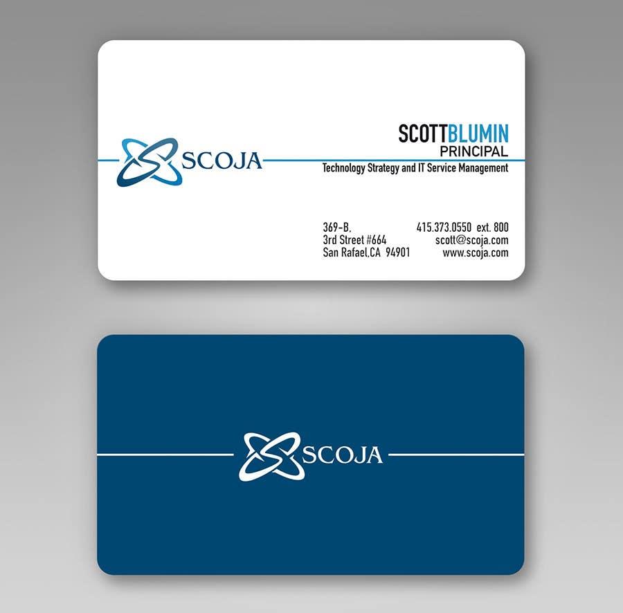 Bài tham dự cuộc thi #                                        357                                      cho                                         Business Card Design for SCOJA Technology Partners