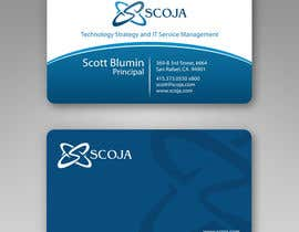 #360 untuk Business Card Design for SCOJA Technology Partners oleh imaginativeGFX