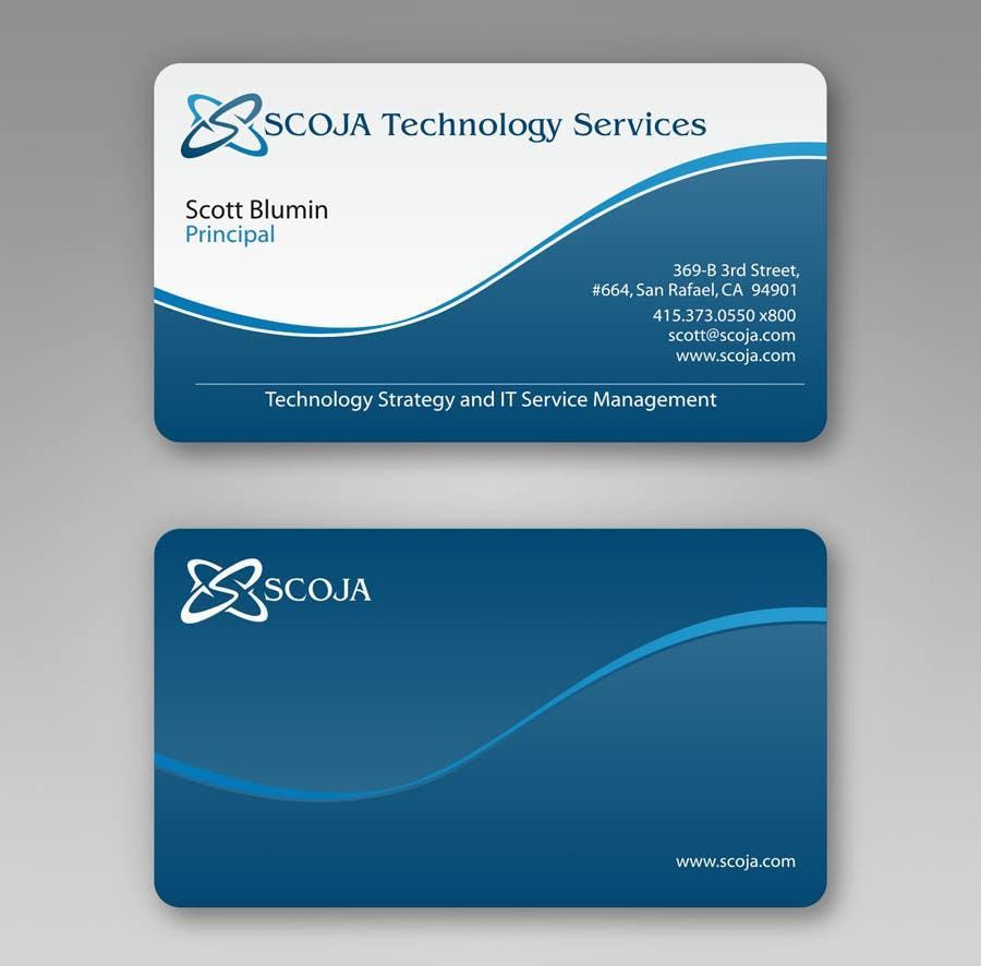 Bài tham dự cuộc thi #                                        329                                      cho                                         Business Card Design for SCOJA Technology Partners