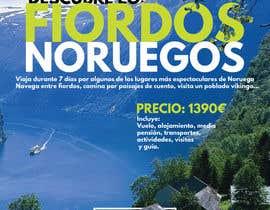 #32 untuk Poster  design for trips around Norway oleh vadimcarazan