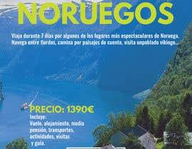 #56 untuk Poster  design for trips around Norway oleh vadimcarazan