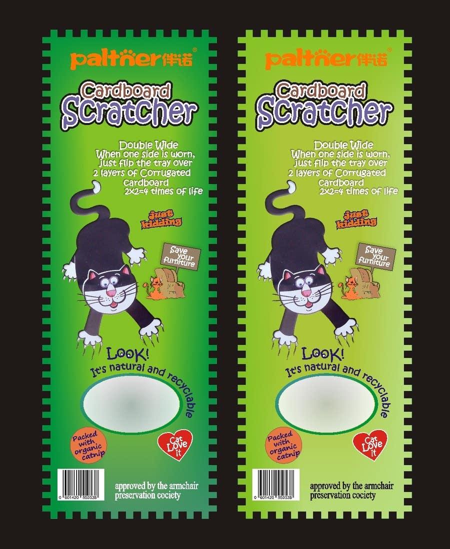 Inscrição nº 34 do Concurso para Create Print and Packaging Design-cat  scratcher box