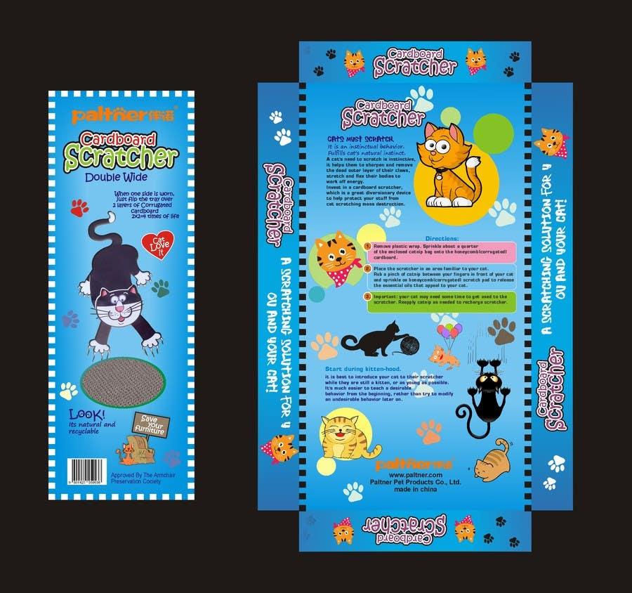 Inscrição nº 44 do Concurso para Create Print and Packaging Design-cat  scratcher box