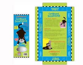 #22 para Create Print and Packaging Design-cat  scratcher box por vieghie