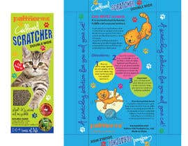 #27 para Create Print and Packaging Design-cat  scratcher box por rcoco