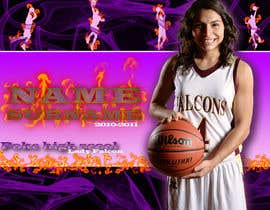 #55 pentru Digital background designer for sports posters. de către Udovas