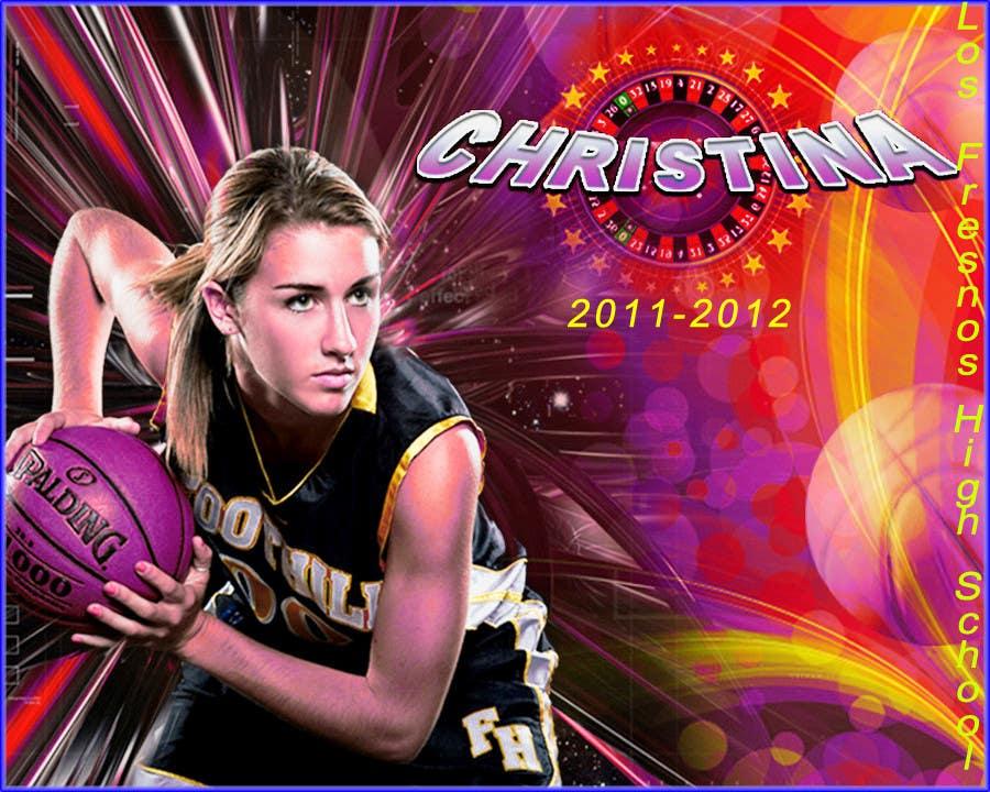 Penyertaan Peraduan #53 untuk Digital background designer for sports posters.