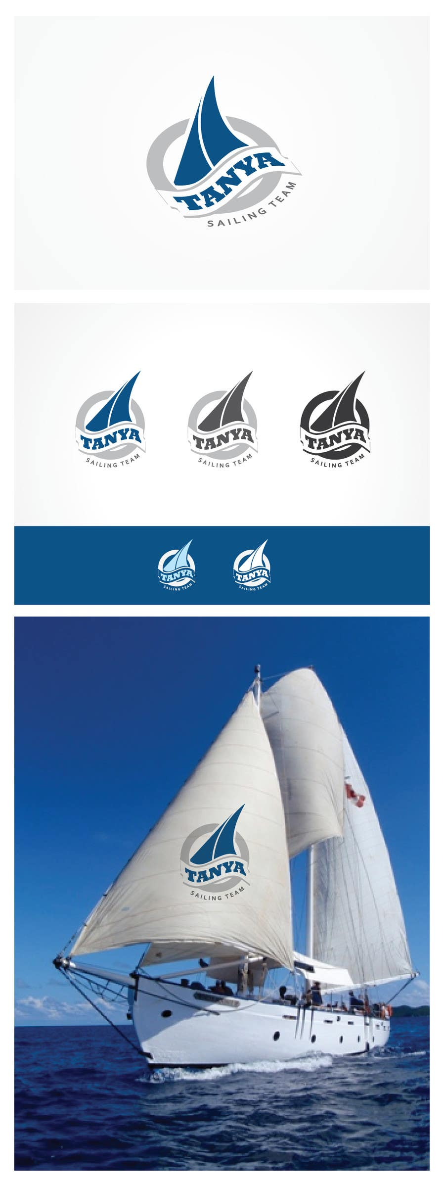 #282 for Logo for sailing team by MaxDesigner