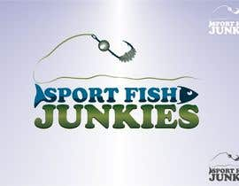 #90 cho Logo Design For Sport Fish Junkies Website bởi airbrusheskid