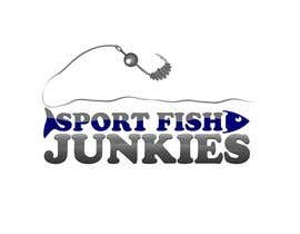 nº 151 pour Logo Design For Sport Fish Junkies Website par airbrusheskid
