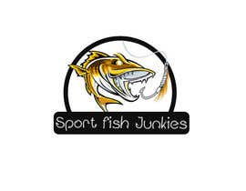 #113 untuk Logo Design For Sport Fish Junkies Website oleh ambar