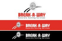 Graphic Design Contest Entry #71 for Logo Design for Break-a-way concrete cutting services pty ltd.