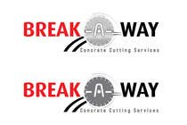 Graphic Design Contest Entry #112 for Logo Design for Break-a-way concrete cutting services pty ltd.