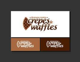 Nro 44 kilpailuun Diseñar un logotipo para Buenos Aires Crepes Y Waffles käyttäjältä giriza