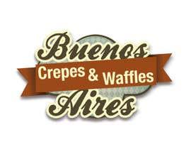 Nro 35 kilpailuun Diseñar un logotipo para Buenos Aires Crepes Y Waffles käyttäjältä israluky