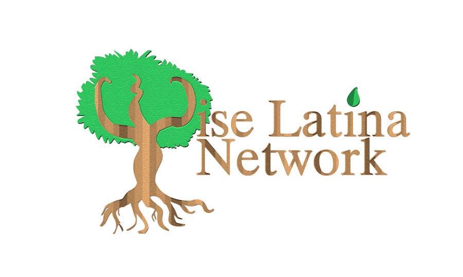 Penyertaan Peraduan #19 untuk Design a Logo for latina women empowerment network