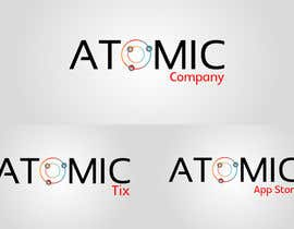 #177 for Design a Logo for The Atomic Series of Sites af sagorak47