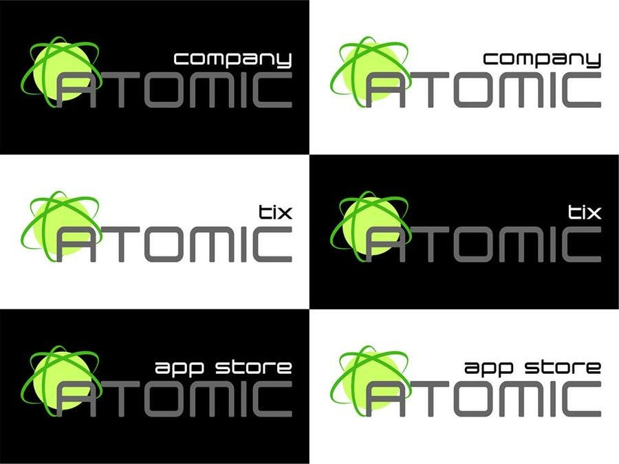 Inscrição nº 54 do Concurso para Design a Logo for The Atomic Series of Sites