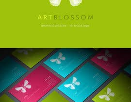 HallidayBooks tarafından Logo for Russian graphic design company Art-blossom. için no 291